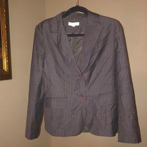 Ann Taylor Sz 6 pinstripe blazer